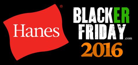 Hanes Black Friday 2016