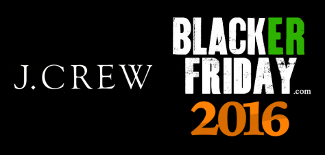 J Crew Black Friday 2016