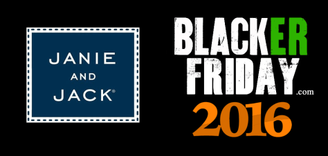 Janie and Jack Black Friday 2016