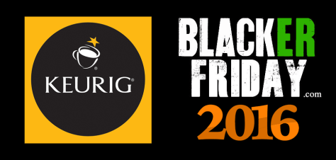 Keurig Black Friday 2016