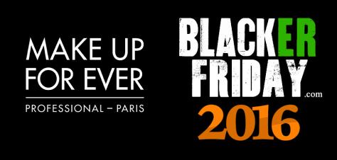 Make Up Forever Black Friday 2016