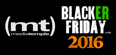 Media Temple Black Friday 2016