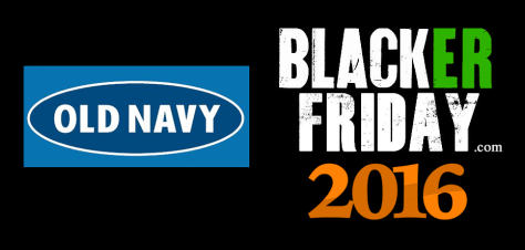 Old Navy Black Friday 2016