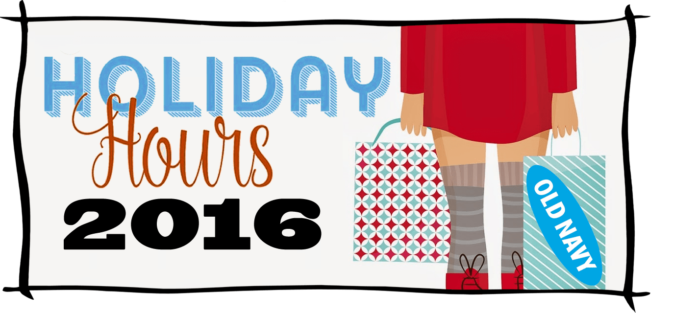 Old Navy Black Friday Store Hours 2016