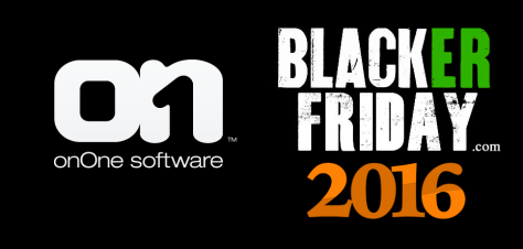 On1 Software Black Friday 2016