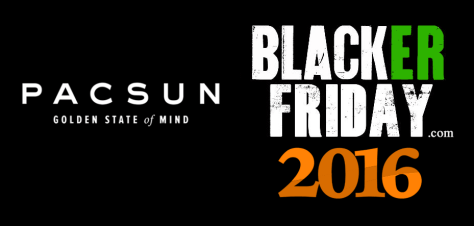 PacSun Black Friday 2016