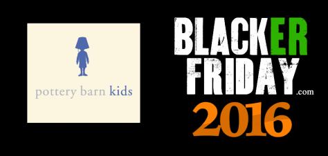 Pottery Barn Kids Black Friday 2016