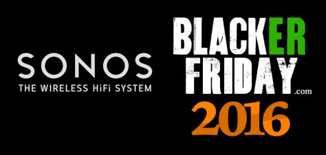 Sonos Black Friday 2016