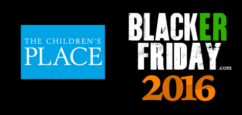 The Childrens Place Black Friday 2016