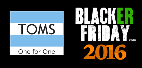 Toms Shoes Black Friday 2016