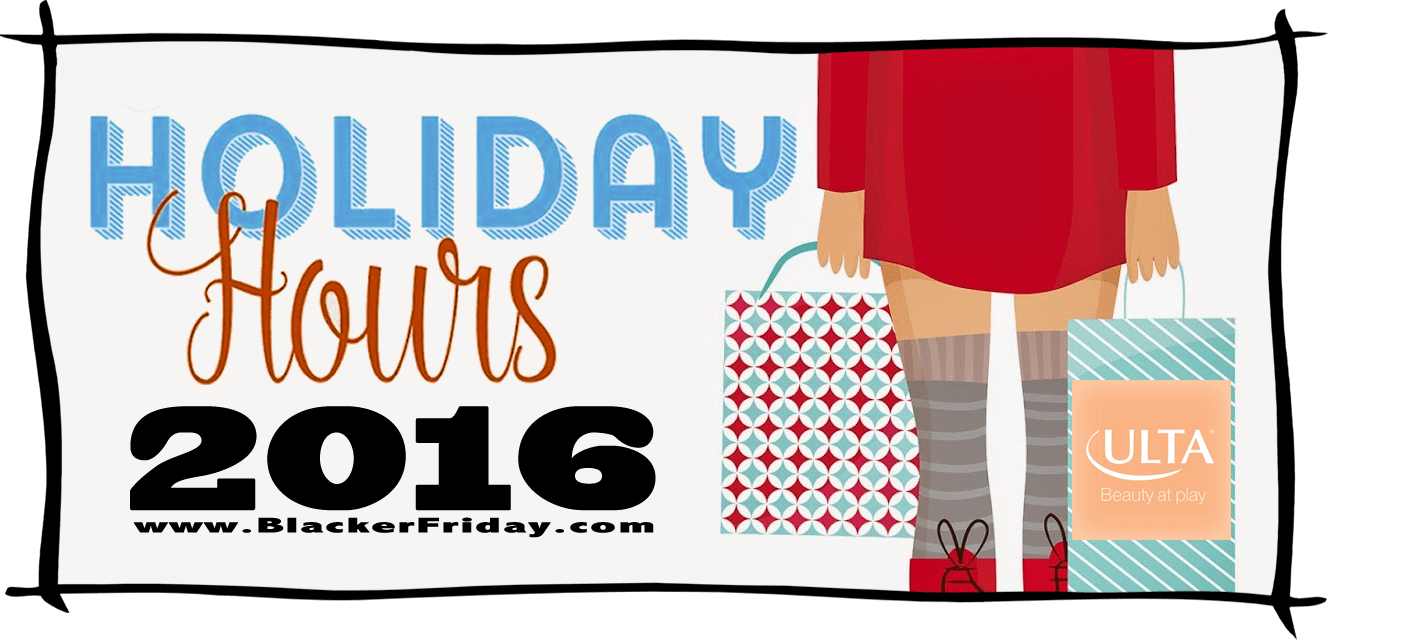 Ulta Black Friday Store Hours 2016