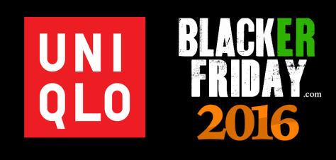 Uniqlo Black Friday 2016