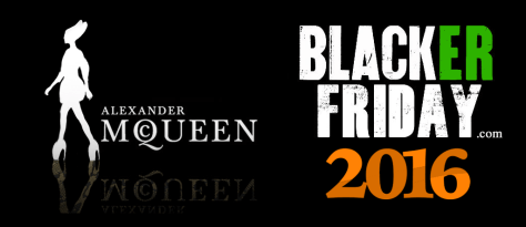 Alexander McQueen Black Friday 2016
