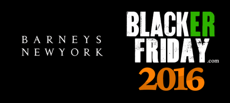 Barneys New York Black Friday 2016