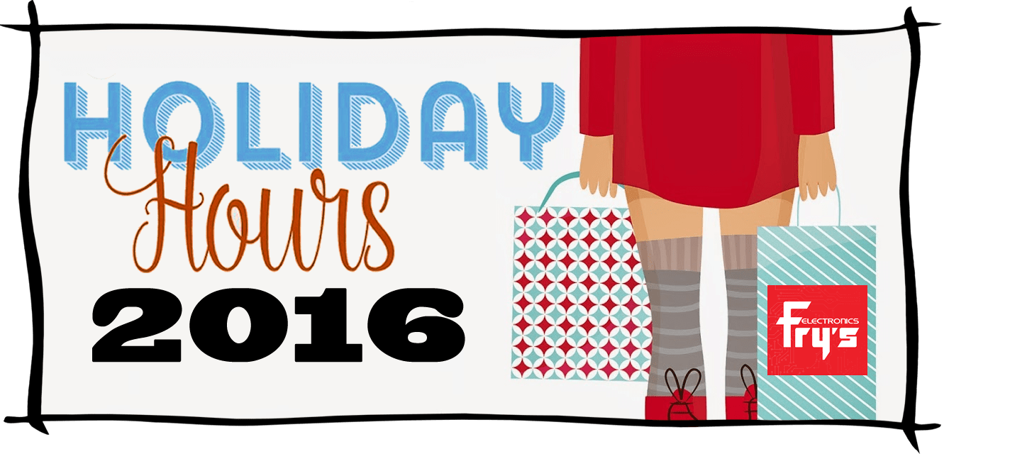 Frys Electronics Black Friday Store Hours 2016