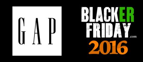 GAP Black Friday 2016