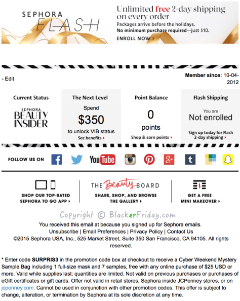 Sephora Cyber Monday Ad Scan - Page 5