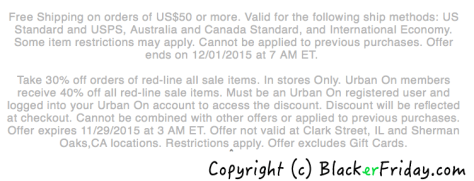 Urban Outfitters Black Friday Ad - Page 3