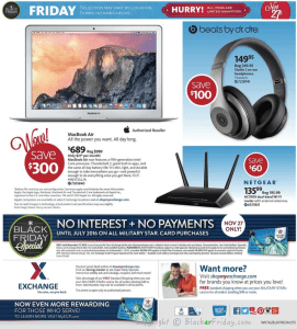 AAFES Black Friday Ad Scan - Page 32