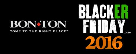 Bonton Black Friday 2016