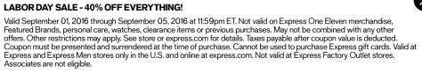 Express Labor Day 2016 Sale - Page 2