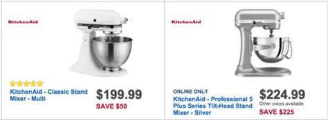 KitchenAid Artisan Mixer Black Friday - Best Buy