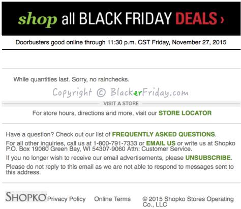 Shopko Black Friday Ad Scan - Page 3