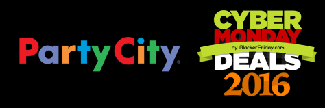Party City Cyber Monday 2016