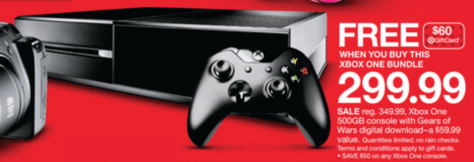 Target Xbox One Black Friday - Page 1