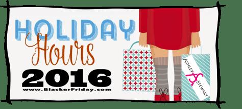 Ashley Stewart Black Friday Opening Hours 2016
