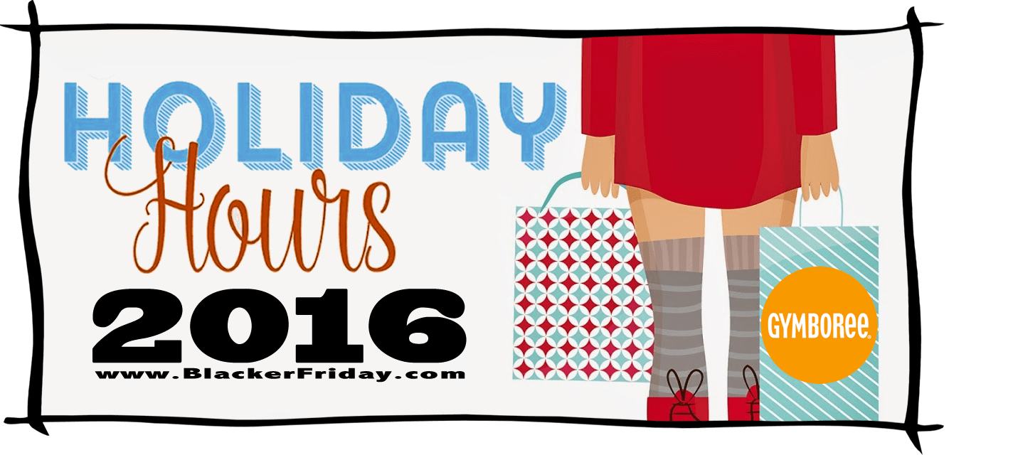 Gymboree Black Friday Store Hours 2016