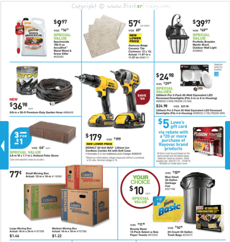 Lowes Labor Day 2016 Sale Flyer - Page 23