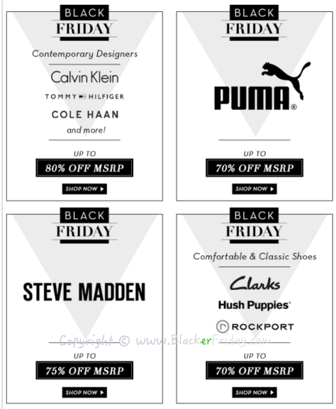 6PM Black Friday Sale Ad Flyer - Page 4