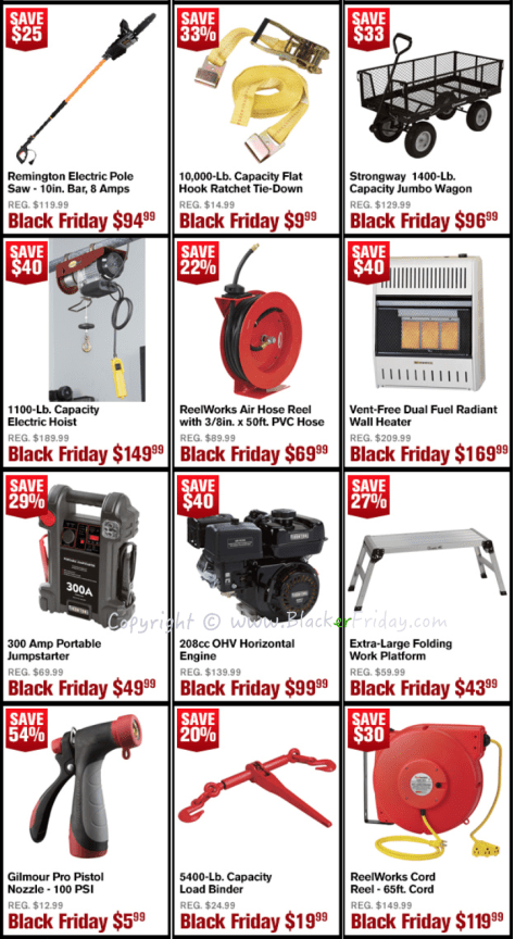 Northern Tool Black Friday Sale Flyer - Page 3