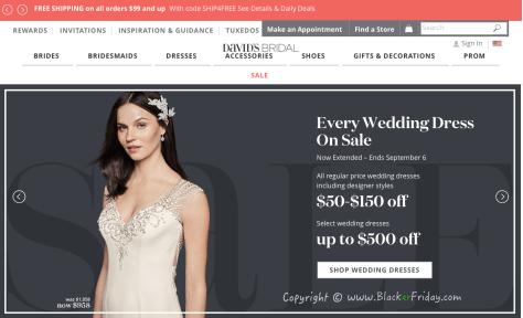 Davids Bridal Labor Day 2016 Sale - Page 1