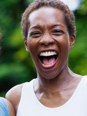 Laughing Women --- Image by © Corbis
