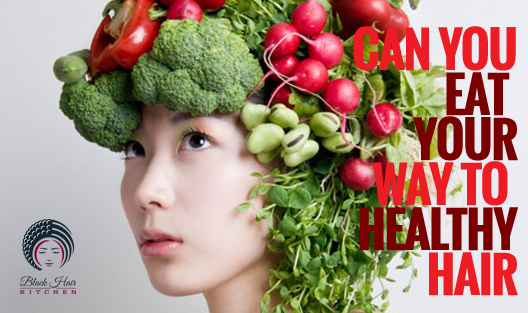 can you eat your way to healthy hair
