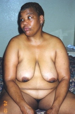 hairy black granny