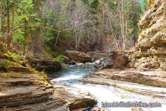The Walk To Devil's Bathtub Spearfish Canyon