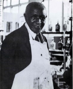 Carver in lab