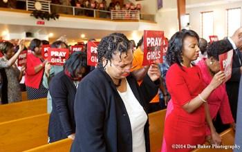 History Black Church Prayer Vigil For Missing Nigerian Girls
