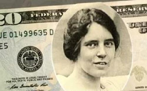 Margaret Sanger on $20 Bill