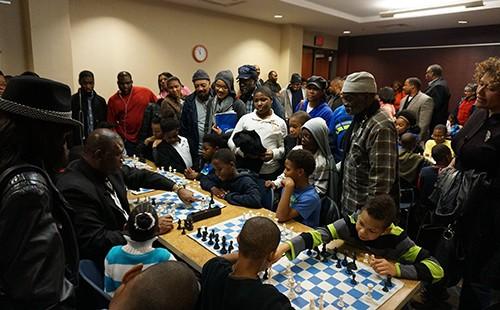 Orrin Hudson Community Chess Event