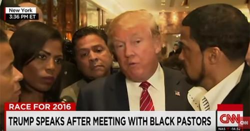 Donald Trump Meets with Black Pastors
