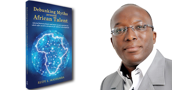 Rudy Massamba, author of Debunking Myths Around African Talent
