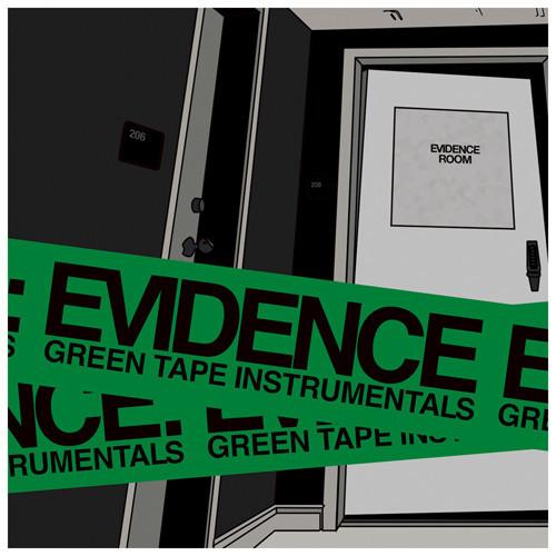 evidence green tape