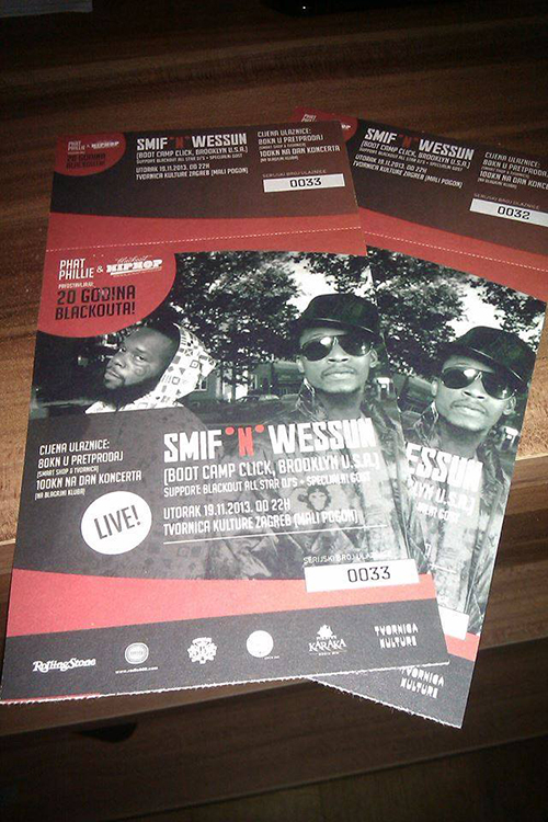smifnwessun tickets