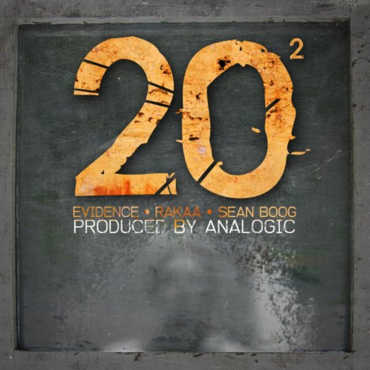 "Analogic feat. Evidence, Rakaa & Sean Boog - ""Twenty Squared"