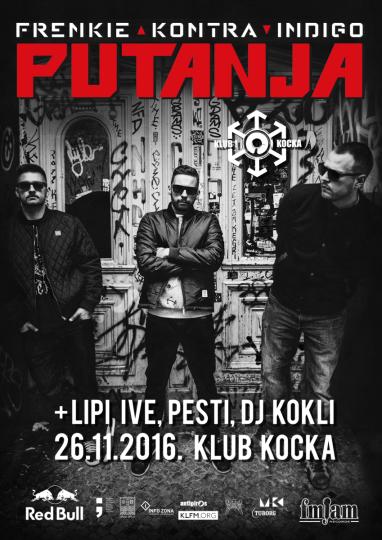 Frenkie, Kontra & Indigo @ Klub Kocka, Split (26. 11.)