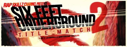 Rap Skillz - Six Feet Underground 2 @ Katran, Zagreb (10. 12.)